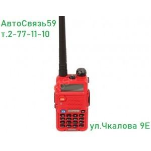 Радиостанция портативная Baofeng 5R-red