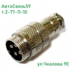 Гнездо micro 4 на кабель
